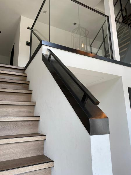 Stalen trapleuning en balustrades nieuwbouwproject Groote Wielen in Rosmalen
